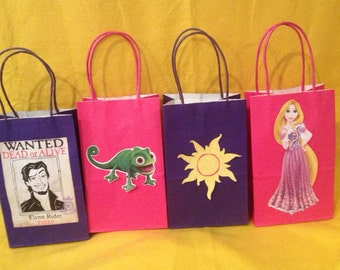Tangled Inspired Treat Bags