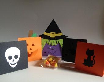Halloween Treat Bag Holders