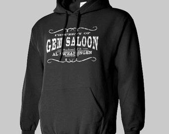 DEADWOOD AL SWARENGEN Hoodie Gem Saloon hoody