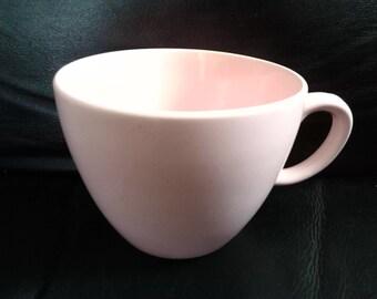 Vintage 1950s Pink Coffee/Tea Ceramic Cup