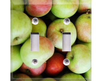 Apples Double Light Switch Cover (10012)