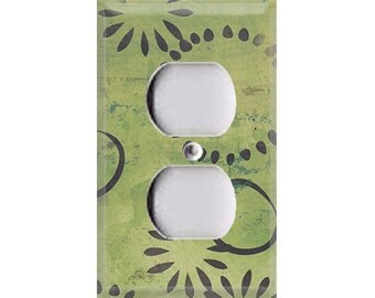 Boardwalk Collection - Green Design Outlet Cover