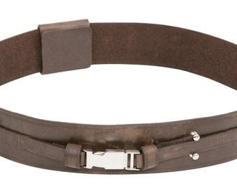 Star Wars Anakin Skywalker Brown Replica Leather Jedi Belt - JRA 1404