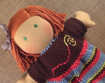 10 inch Waldorf doll