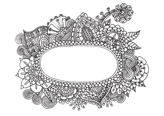 window frame coloring pages - photo#33