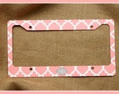 License Plate Frame Cover Holder Custom Monogrammed Personalized Sweet 16 Gift Graduation New Car Accessories Cute Car Accessories For Women