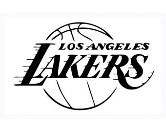 Los angeles Lakers car decal