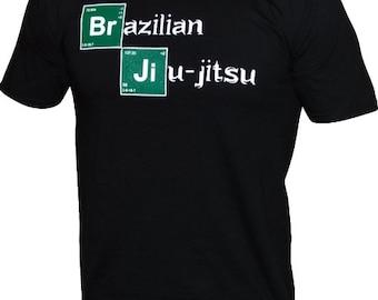 """Toro """"Breaking BJJ"""" T-Shirt Brazilian Jiu Jitsu MMA Armbar Choke/"""