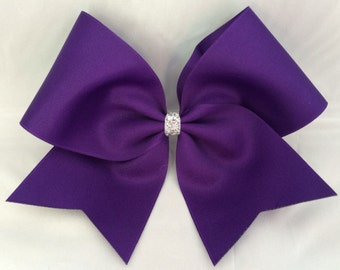 Practice Cheer Bow - Deep Purple