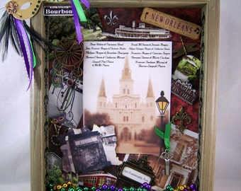 Custom Made to Order Shadow Box You PICK YOUR THEME