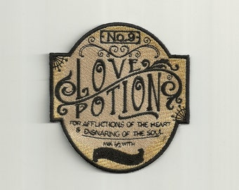 Apothecary, Love Potion No. 9, Patch! Custom Made!