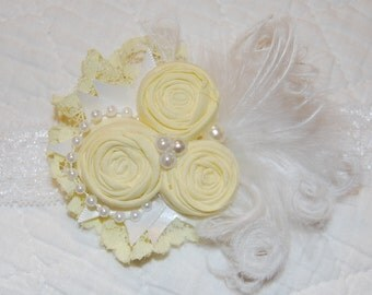 Yellow Headband by Caprice Colette