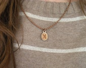 Personalized Initial Necklace, Monogram Necklace, Initial Pendant, Initial Necklaces, Womens Necklace, Laser Engraved