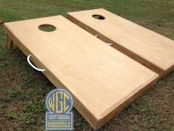Sale Plain Jane Diy Cornhole Board Set With Standard By