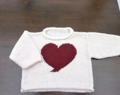 Heart Design Girls Jumpers - Ladyrose52