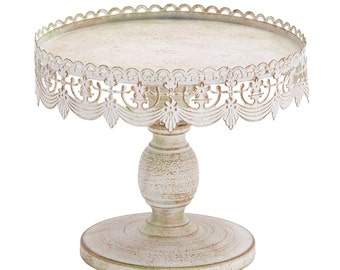 VintageStyle  Metal Cake Stand  Metal Scroll Cake Stand, Lace Cake Stand  AMAZINGLY  BEAUTIFUL !!!