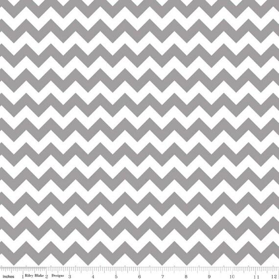 Chevron Fabric Gray images