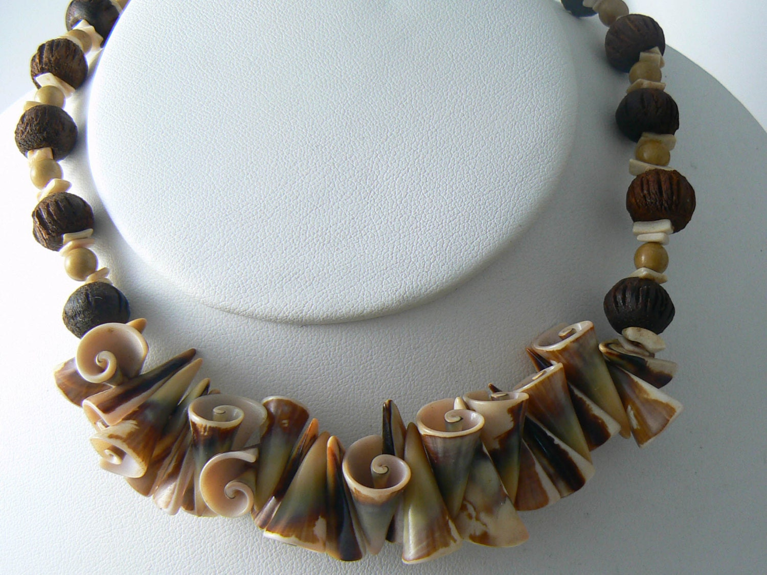 Vintage costume jewelry shell