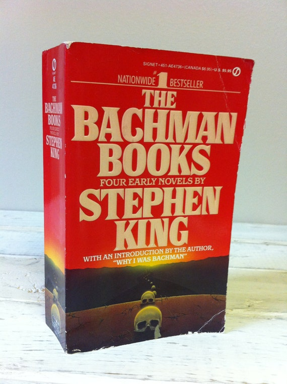 The Bachman Books Four Early Novels By Stephen King 1985 HC No DJ