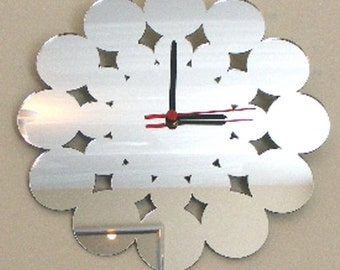 Circles Clock Mirror - 2 Sizes Available
