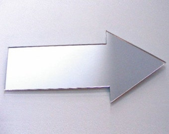 Arrow Shaped Mirrors - 5 Sizes Available