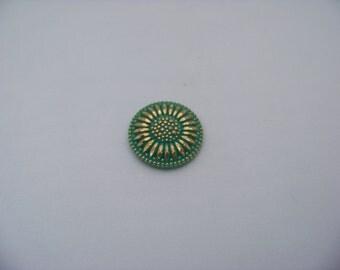 27mm Button top Sunflower cab/3031