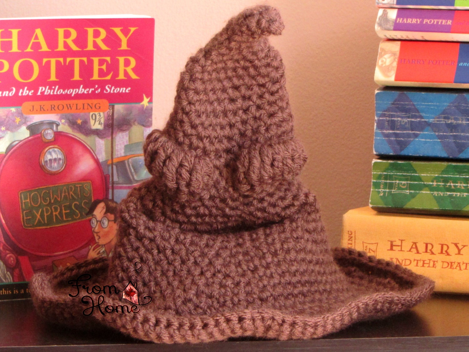 The Hogwarts Sorting Hat Baby Child Adult Crochet