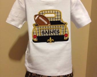 Boys Saints Truck T Shirt