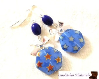 Stardust - earrings star
