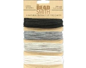 Onyx shades Hemp Twine 1mm (20 lb. test)