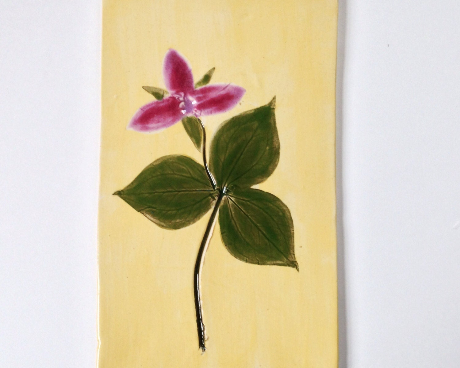 Porcelain Leaves Wall Decor: Best ideas about ceramic wall art on ...
