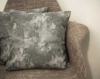 Grey Concrete Cushion Cover