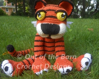 Crochet Tiger Pattern Thadious Tiger