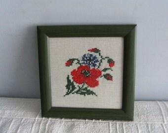 Handmade crosstitch frame...