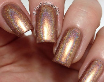 Holo'd Ground- Glitz'd 23 1st bday/Anniversary Collection- 15ml Nail Polish