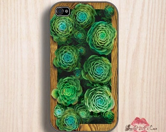 Succulent garden in an iPlanter - iPhone 4/4S 5/5S/5C/6/6+ and now iPhone 7 cases!! And Samsung Galaxy S3/S4/S5/S6/S7
