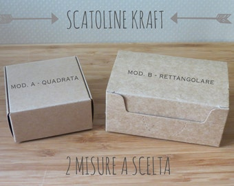 kraft boxes 10-4 sizes to choose from