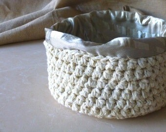 Popular items for uncinetto cestini on etsy for Cestini shabby