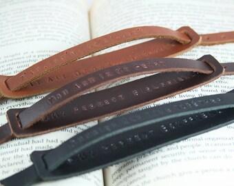 2x Couple Bracelet, Matching Bracelet, Leather Bracelet, His Hers Bracelet,Custom Bracelet,Engraved Bracelet,His Her Gift,Anniversary Gift,