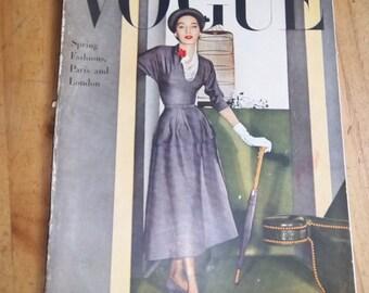 Vogue April 1948 Issue
