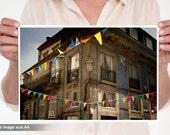 Party in Porto, Portugal. Happy photo. Europe.Oporto Fine art photography.Home Decor.Portugal.Etsy Wall Art. Vila Nova de Gaia