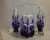 Valentine Centerpiece Candle Set