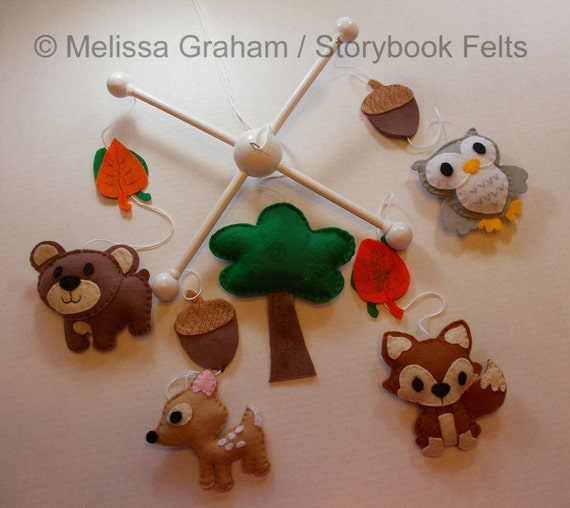 Shop Closing Sale Make Your Own Baby Mobile Woodland