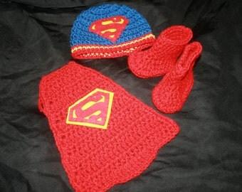 Popular items for crochet superman on Etsy