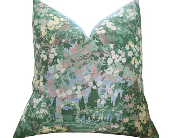Ralph Lauren Garden Walk Linen Pillow Cover