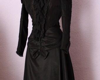 Empress Sisi mourning dress