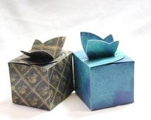 DIY Box, Gift Box, Paper Box, Box Template, Printable Gift Box, Butterfly Box