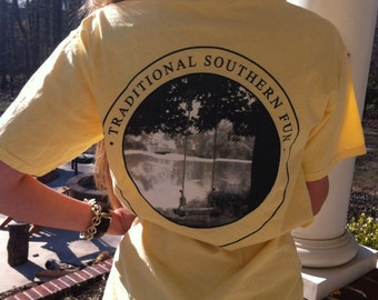 Traditional Southern Fun T-Shirt in Butter