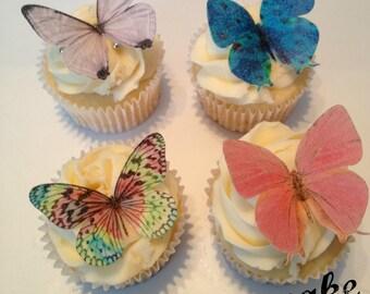 Rainbow Fairy Wing Edible Butterflies