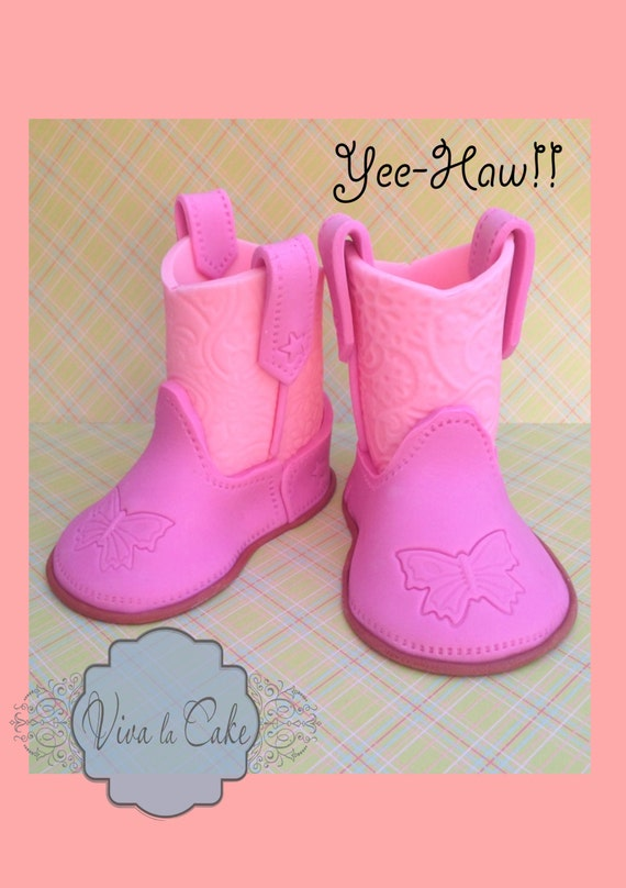 fondant cowboy boots template